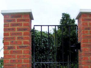 Brickwork Gate Piers Maidstone